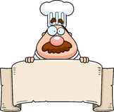 Chef Banner Stock Photo