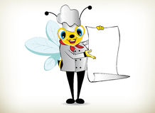 Chef Bee Royalty Free Stock Photo