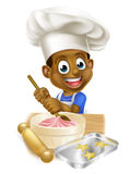 Chef Boy de bande dessinée Images libres de droits