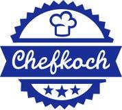 Chef Button German Imagenes de archivo