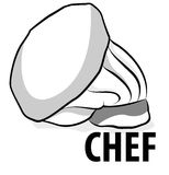Chef Cap. Line illustration for the chef cap Vector Illustration