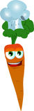 Chef carrot Royalty Free Stock Photography