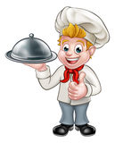 Chef Cartoon Character Mascot Royalty Free Stock Photos