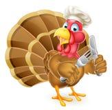 Chef Cartoon Turkey vector illustration