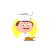 Chef character Royalty Free Stock Photography