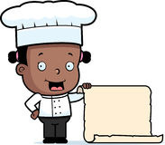 Chef Child Menu Royalty Free Stock Photo