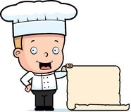 Chef Child Menu Stock Photos