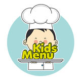 Chef children Royalty Free Stock Image