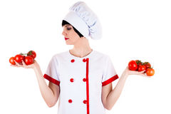Chef choice Stock Photography