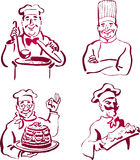 Chef Collection Stock Photography