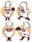 Chef collection Royalty Free Stock Images