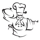 Chef cook Royalty Free Stock Photo