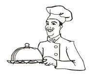 chef cook Royalty Free Stock Images