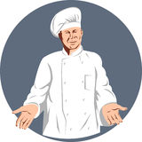 Chef cook Royalty Free Stock Photos