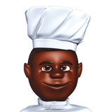 Chef cook African Stock Image