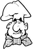 Chef cook cartoon Vector Clipart Royalty Free Stock Photos