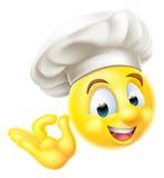 Chef Cook Emoji Emoticon Stock Photos