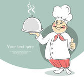 Chef cook men Stock Photography