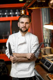Chef cook portrait Royalty Free Stock Images