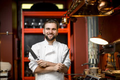Chef cook portrait Royalty Free Stock Photography