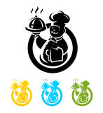 Chef cook. Vector illustration Stock Image