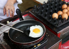 Sunny-side up eggs stock photo