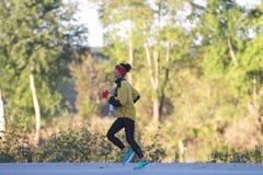Chef dans une course 5K en Forsyth, Missouri Photo libre de droits