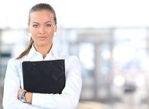 Chef de file des affaires féminin Photo libre de droits
