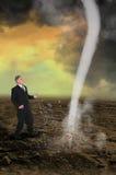 Chef de file des affaires Sales Profit Marketing Photo libre de droits