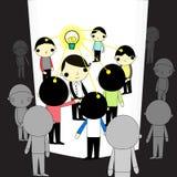 Chef de lumière illustration libre de droits
