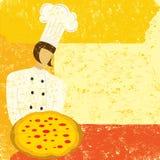 Chef de pizza Photo libre de droits