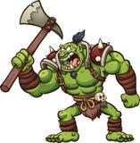 Chef de Troll illustration de vecteur