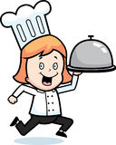 Chef Delivery Royalty Free Stock Photo