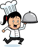 Chef Delivery Royalty Free Stock Image