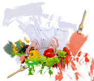 Chef in der Uniform Lizenzfreies Stockbild