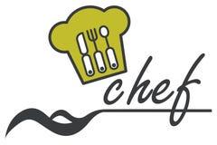 Chef design. Chef hat for logo design Stock Photo