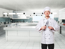 Chef on duty Royalty Free Stock Images