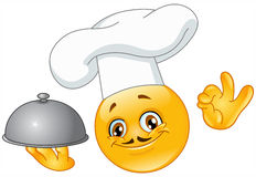 Chef emoticon Royalty Free Stock Photo