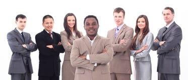Chef et équipe professionnelle d'affaires Images stock