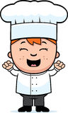 Chef Excited d'enfant Photo libre de droits