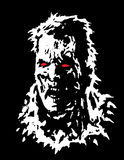 Chef fâché de zombi Illustration de vecteur illustration de vecteur