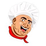 Chef.Face Imágenes de archivo libres de regalías