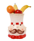 Chef and fruits Royalty Free Stock Photo