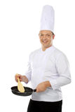 Chef gesturing Royalty Free Stock Photo