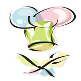 Chef hat. Chef's hat vector icon Royalty Free Stock Photos
