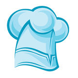 Chef hat. Illustration of a chef hat Stock Photos