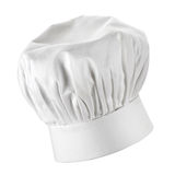 Chef hat. Chef's hat on white background Royalty Free Stock Photo