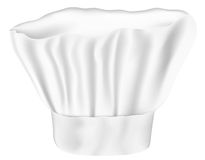 Chef Hat. Vector Illustration of White Chef Hat Isolated on White Background vector illustration