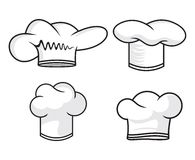 Chef hat collection Stock Photography