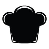 Chef hat icon Royalty Free Stock Photography